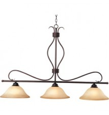 Maxim Lighting Basix Oil Rubbed Bronze 3-Light Island Light 10127WSOI