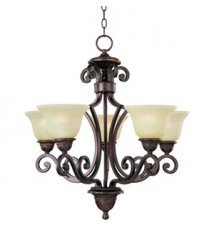 Maxim Lighting Symphony Oil Rubbed Bronze 5-Light Chandelier 11244SVOI
