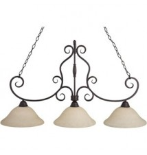 Maxim Lighting Manor Oil Rubbed Bronze 3-Light Island Light 12208FIOI