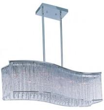 Maxim Lighting Swizzle Polished Chrome 16-Light Pendant Light 39707CLPC