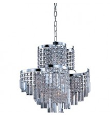Maxim Lighting Belvedere Polished Chrome 12-Light Pendant Light 39805BCPC