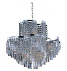 Maxim Lighting Belvedere Polished Chrome 19-Light Pendant Light 39806BCPC