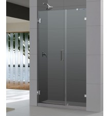 "DreamLine UnidoorLux 45"" Frameless Hinged Shower Door"
