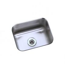 "Elkay  ""Lustertone"" Undermount Single Bowl Kitchen Sink"