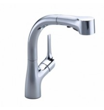 "Kohler  ""Elate"" Pull-Out Spray Kitchen Faucet"