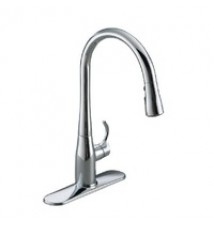 "Kohler  ""Simplice"" Pull-Out Spray Kitchen Faucet"
