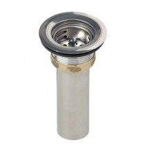 Elkay Brass Kitchen Sink Drain LK58 Stainless Steel