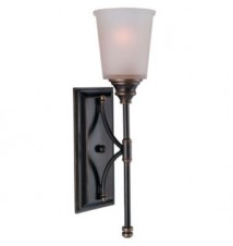 "Sea Gull ""Warwick"" 1 Bulb Wall Sconce"