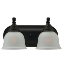 "Sea Gull ""Wheaton"" 2 Bulb Bathroom Light"