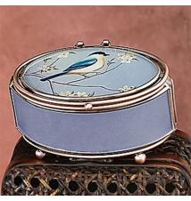 Blue Bird Trinket Box #100