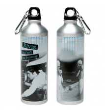 Elvis Presley Water Bottle Stainless Steel Style Left The Building