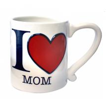 Amscan I Heart Mom 16oz Coffee Mug