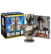 Doctor Who Cyberman Bust And Illustrated Book