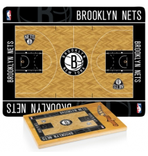 Brooklyn Nets Icon Cutting Board With Cheese Knife