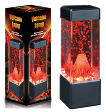 Fascinations Volcano Lamp
