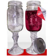 2 PACK  -  Original Redneck Wine Glass 16oz