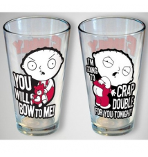 Family Guy 2 Pack Pint Glass Collector*s Series