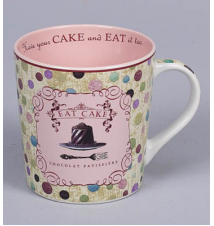 *Eat Cake* Coffee Mug