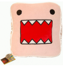 Domo Pink Face Plush Pillow