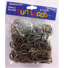 Fun Loops Bands #93- Pewter