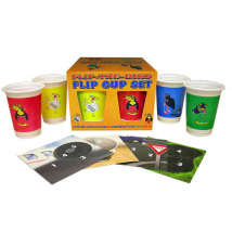 Flip The Bird Flip Cup Set Game