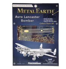 Avro Lancaster Bomber  MetalEarth 3D Laser Cut Model By Fascinations #