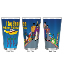 Boelter Brands The Beatles Yellow Submarine Pint Glass