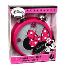 Disney*s Minnie Mouse Jumbo Twin Bell Alarm Clock