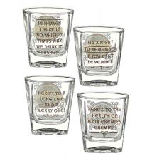 Celtic Whiskey Glasses Set Of 4