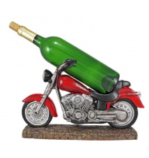 Easy Rider -Twin Motorcycle Wine Bottle Holder