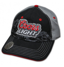 Coors Light Mountain Black Bottle Opener Cap