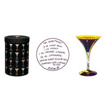 40 Something Martni Glass by Lolita Love my Martini #47