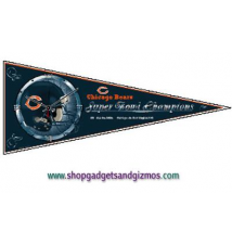 Chicago Bears Pennant Clock