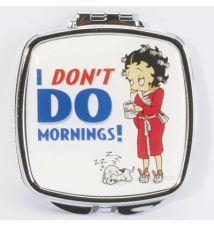 Betty Boop Compact *I Don*t Do Mornings*