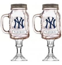 2 Pack New York Yankees Redneck Beer/Wine Glass