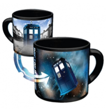 Doctor Who Heat Changing Disappearing Mug