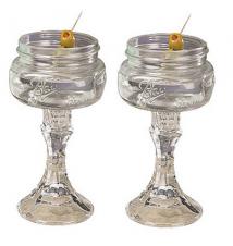 2 PACK  -  Redneck Martini Glass 4oz
