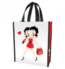 Betty Boop & Coke Small Recycled Shopper Tote
