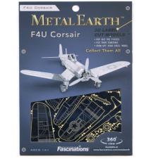 F4U Corsair Metal Earth 3D Laser Cut Model By Fascinations #015