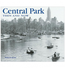 Central Park Then and Now Book