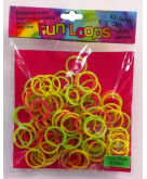 Fun Loops Tye Dye Glitter Band..