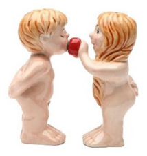 Adam And Eve Salt And Pepper Shakers #108