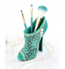 Cosmopolitan Green Boot Brush Holder