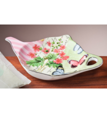 *Butterfly Garden* Tea Bag Holder