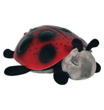 Cloud B Twilight Ladybug Dream Lite Nightlight - Red