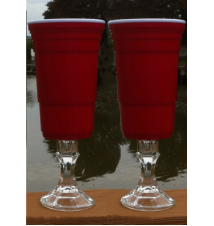 2 Pack Redneck SOLO Wine Cup - Mega 32 Ounce size