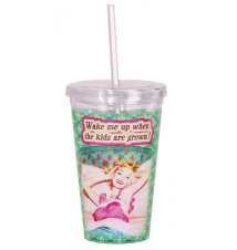 Acrylic Drink Cup With Straw #44 When The Kids Are Grown