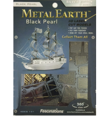 Black Pearl Metal Earth 3D Laser Cut Model by Fascinations #006