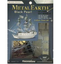 Black Pearl Metal Earth 3D Laser Cut Model by Fascinations #006