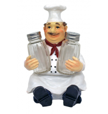 Bon Apetit Chef Salt and Pepper Shaker #190
